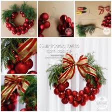 DIY & Crafts  Wonderful DIY Christmas Bauble Wreath ...