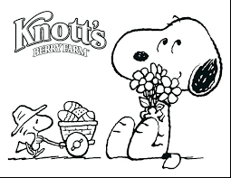 Peanuts Coloring Pages Gang Page Free Printable