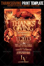 thanksgiving party flyer thanksgiving flyer template psdbucket com