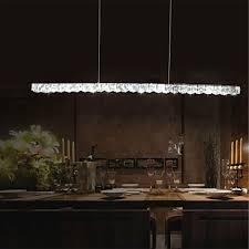 pendant lights crystal led modern