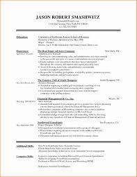 Skills Resume Format Unique Creative Executive Resume Example 2018