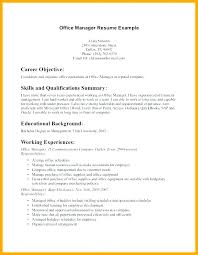 Examples Of Medical Resumes Amazing Front Office Manager Resume Template Resumes For Jobs Sample Of