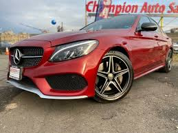 The front and rear seats are covered in a choice of black, red, saddle brown or ivory white leather. Used 2016 Mercedes Benz C Class C Amg 450 For Sale Right Now Cargurus