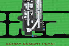 Cement Cyclone Design Surma Cement Plant Cyclone Preheater 3d Cgtrader