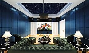 Basement Home Theater Lighting 90 Home Theater Media Room Ideas Photos