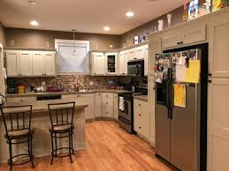 Kitchen Cabinet Refinishing Before After