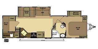 >2012 open range rv light series m 305bhs specs and standard  floor plan