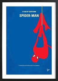 spiderman picture frames home wall art posters in wooden birthday