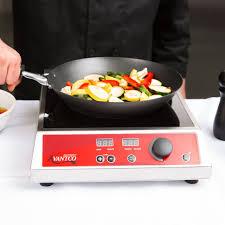 new avantco countertop induction range single burner commercial restaurant 1800w