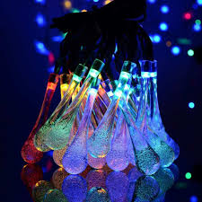 christmas rope lighting. Outdoor Led Rope Lights Unique Luminaria Colorful Crystal Ball Solar Powered Christmas Of Lighting