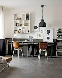 industrial style home office. Contemporary Home Industrial Style Home Office Via FrenchByDesignjpg On Style Home Office I