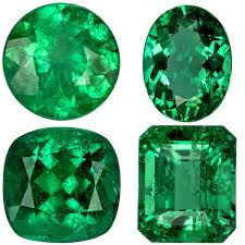 Emerald Gemstone Natural Loose Emeralds For Emerald Rings