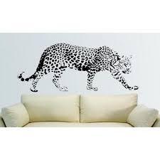 bedight african animal leopard vinyl