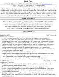 Safety Officer Resume Sample 16 Best Expert Oil Gas Resume Samples Images Sample Resume Cv