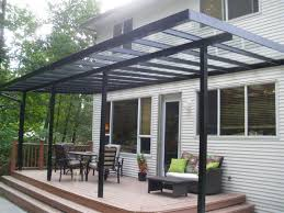 clear covered patio ideas. Covered Patio With Clear Glass Roof : Practical Designs Ideas L