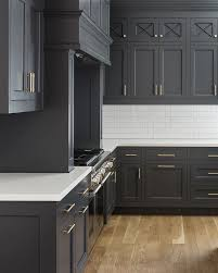 Grey Color Kitchen Cabinet