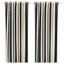 Curtains Praktlilja Blackout Curtains 1 Pair Ikea
