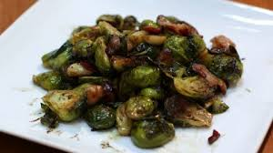 roasted brussel sprouts with garlic and