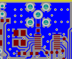 Rf Design Design Of 50 Ohms Rf Trace For 2 4ghz Double Layer Fr 4
