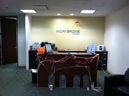 decorating office for halloween. workbridge chicago is getting into the halloween spirit by decorating office everyone that comes seems to love festive decorations for o