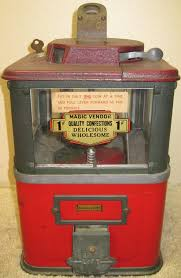 Old Candy Vending Machine Impressive Townsend Magic Vendor Old Antique Coin Operated Countertop Gumball