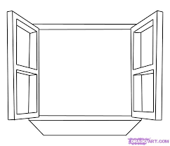 window drawing. Delighful Window How To Draw A Window Step 5 With Window Drawing 0