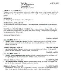 Sample College Resume Resume Sample Professional Style Sample