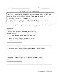 exquisite punctuation worksheets dash substitution worksheet tes or h substitution worksheet worksheet um