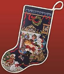 Cross Stitch Stocking Patterns Gorgeous Downloadable Christmas Stocking Cross Stitch Patterns