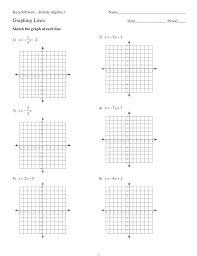 worksheets for graphing linear equations all inequalities worksheet algebra 2 answer key
