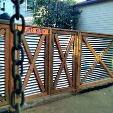 metal privacy fence panels corrugated metal privacy fence panels gate picture texture sheet metal privacy fence panels