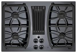 ge profile series 30 built in gas cooktop black on black