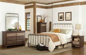 Metal Bedroom Furniture Set Standard Furniture Tristen Queen Metal Bed With Tubular Steel