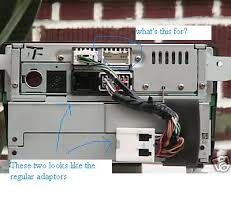 2001 qx4 head unit replacement inquiry nissan forum nissan forums i checked the installdr manual and general nissan has two connector just like my harness so i have 3 connectors because i have the bose system