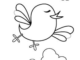 Bird Coloring Pages Printable Robin Coloring Page Red Robin Bird