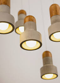 unusual pendant lighting. Unusual Pendant Lamp That Made Of Bamboo And Concrete Lighting L