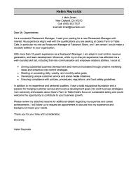 Assistant Manager Cover Letter Hotel Sample Job And Resume Template