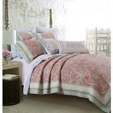Queen Size Cotton Quilts & Coverlets For Less | Overstock.com & Barefoot Bungalow Palisades Pastel 3-piece Quilt Set Adamdwight.com