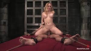 Slutty blonde Helena Locke loves fucking her lover with big.