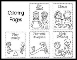 Choose Kindness Coloring Page Vector Illustration Stock At Just