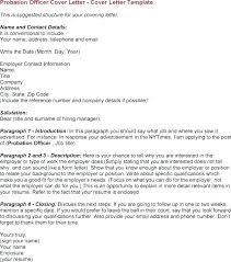 Sample Cover Letter For Entry Level Job Sample Cover Letter For Entry Level Probation Officer Job