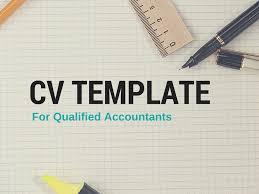 Sample Cv Template For Qualified Accountants Bdo Recruitment