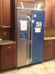 jenn air refrigerator side by side. js42ppdudb: 42\u2033 built in side by refrigerator with dispenser jenn air