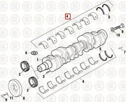 cummins 855 amp n14 standard main bearing kit pai p n 171720 ref pai p n 171720 is 4 the red square in the above diagram n14 other parts separately please email for quote