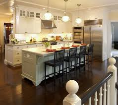 Added Seating Areas. kitchen island with seating