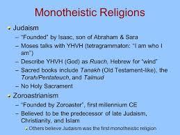 Zoroastrianism Vs Christianity Chart