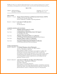 Pharmacist Resume Pdf 24 Pharmacist Resume Format Address Example Sample Pharmacist 18