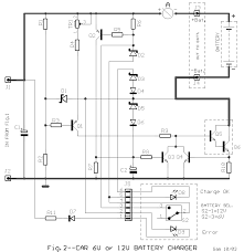 how to build car battery 6v or 12v charger circuit diagram automatic car battery charger circuit diagram at Car Battery Charger Schematic Circuit Diagram