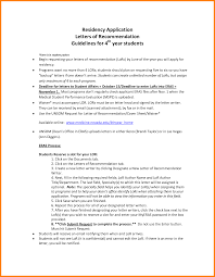 Ideas Collection Recommendation Letter Medical Residency On Resume