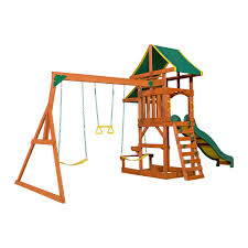 ... Backyard Discovery Playsets - Tucson Wooden Swing Set